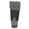 Dámské sněhule se svetrovým lemem weinbrenner, šedá, 599-6500 - 17