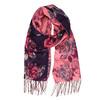 Elegantní šátek s květinovým potiskem bata, fialová, 909-9221 - 13