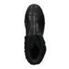 Kožená kotníčková obuv se zateplením converse, černá, 596-6083 - 19
