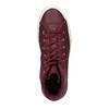 Kožené kotníčkové tenisky se zateplením converse, červená, 596-5082 - 19