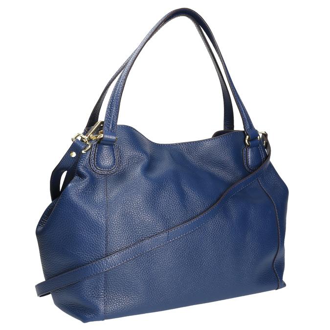 Modrá kožená kabelka bata, modrá, 964-9215 - 13