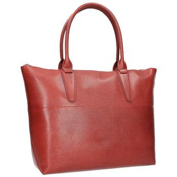Dámská kožená kabelka červená bata, červená, 966-5201 - 13