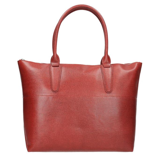 Dámská kožená kabelka červená bata, červená, 966-5201 - 26
