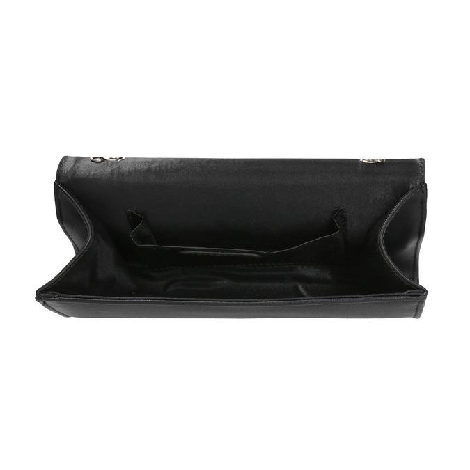 Psaníčko s lakovanou klopou bata, černá, 961-2673 - 15