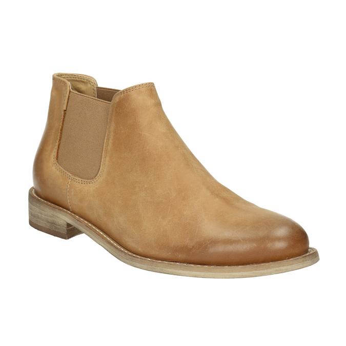 Kožené Chelsea Boots bata, hnědá, 594-3432 - 13