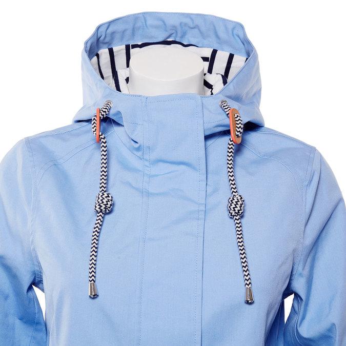 Dámská jarní bunda s kapucí joules, modrá, 979-9013 - 16