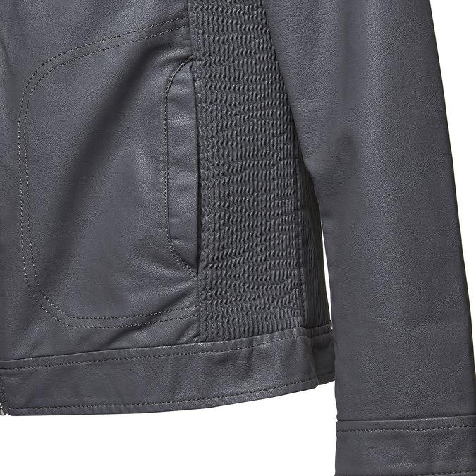 Pánská bunda bata, šedá, 971-2165 - 16