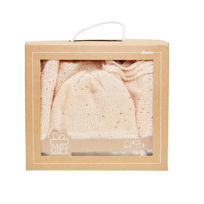 Set šály s čepicí v dárkové krabici bata, 2019-909-0421 - 26