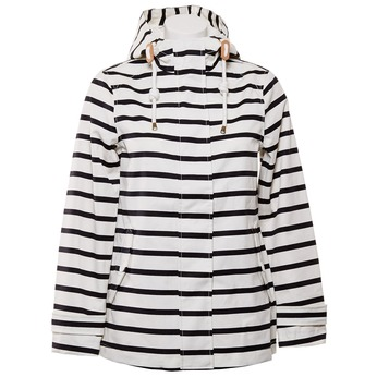 Pruhovaná dámská bunda joules, bílá, 979-6033 - 13