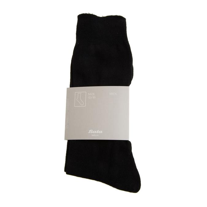 Pánské ponožky bata, černá, 919-6256 - 13