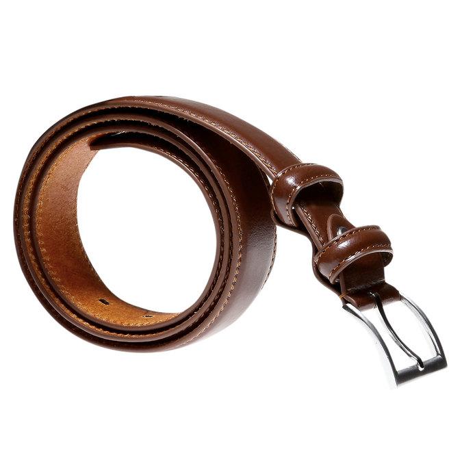 Kožený opasek bata, hnědá, 954-3121 - 13