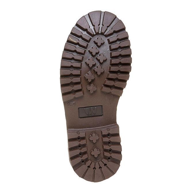 Dětská kožená zimní obuv weinbrenner-junior, hnědá, 394-4182 - 26