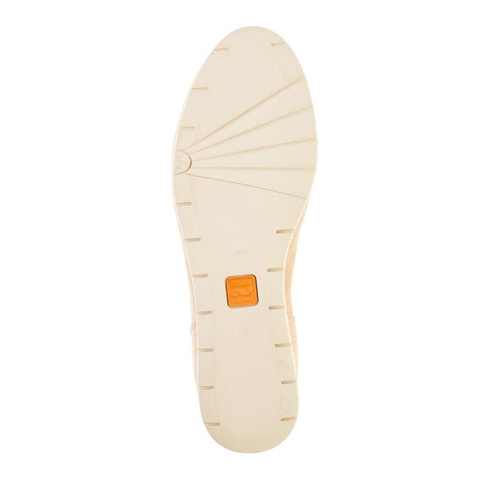Dámské kožené polobotky flexible, béžová, 524-8565 - 26