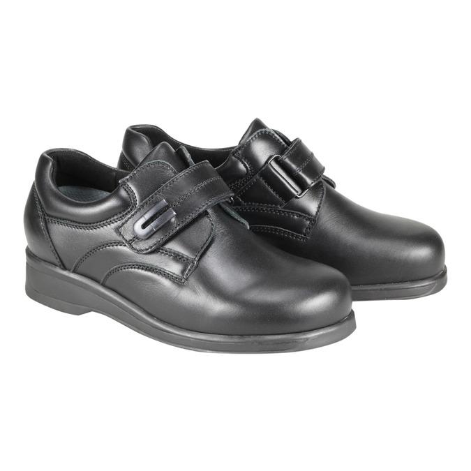 Dámská zdravotní obuv medi, černá, 544-6494 - 26
