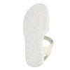 Dívčí sandály se třpytkami mini-b, bílá, 261-1159 - 26