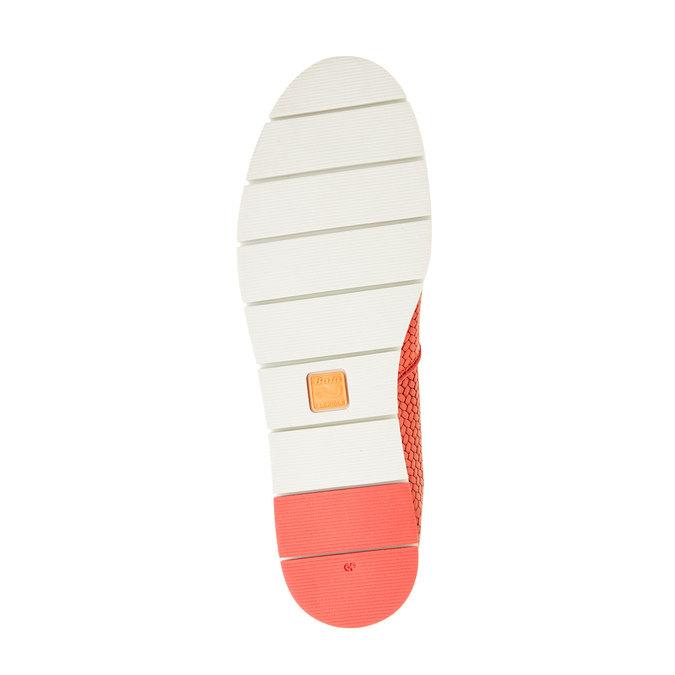 Dámské Slip on s pleteným vzorem flexible, červená, 515-5203 - 26