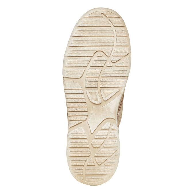 Kožená kotníčková obuv weinbrenner, béžová, 896-2442 - 26