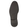 Neformální kožené polobotky bata, hnědá, 824-4654 - 26