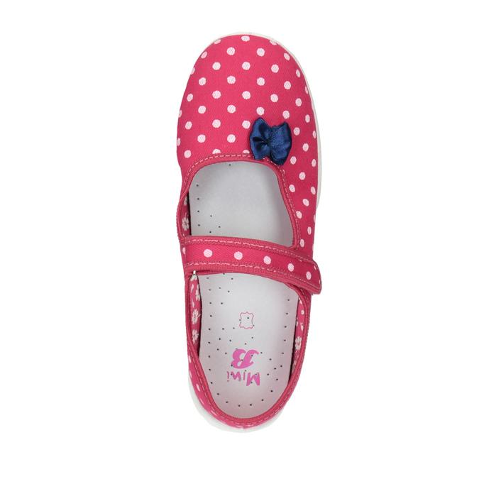 Dětská domácí obuv s páskem přes nárt mini-b, růžová, 379-5209 - 19
