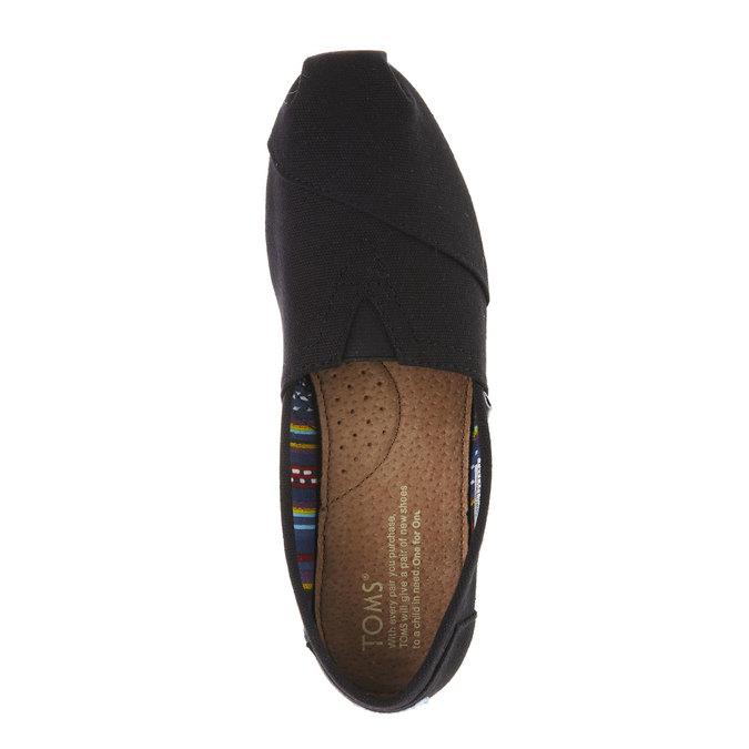 Dámské Slip on toms, černá, 519-6004 - 19