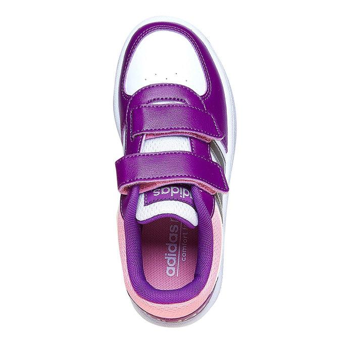 Dětské tenisky na suché zipy adidas, fialová, 301-1167 - 19