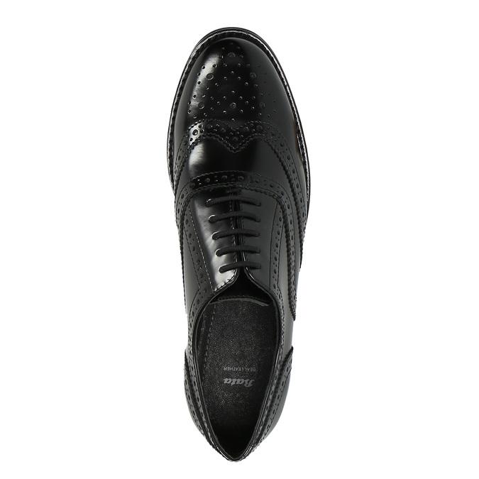 Dámské polobotky bata, černá, 524-6600 - 19
