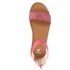 Dětské růžové sandály mini-b, růžová, 361-5161 - 19