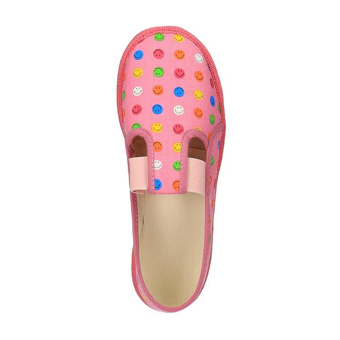 Dětská domácí obuv bata, růžová, 379-5112 - 19