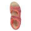 Dětské kožené sandály weinbrenner-junior, oranžová, 366-5170 - 19