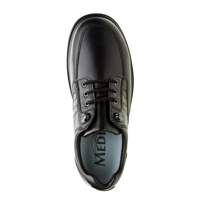 Pánská zdravotní obuv medi, černá, 824-6175 - 19