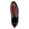 Kožené Chelsea boots bata, hnědá, 596-4606 - 19