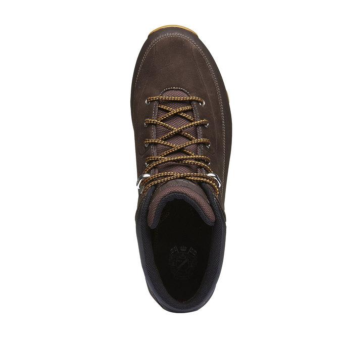 Kožené zimní boty ke kotníkům helly-hansen, hnědá, 894-4020 - 19