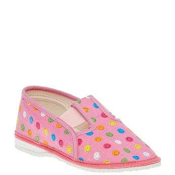 Dětská domácí obuv bata, růžová, 279-5011 - 13