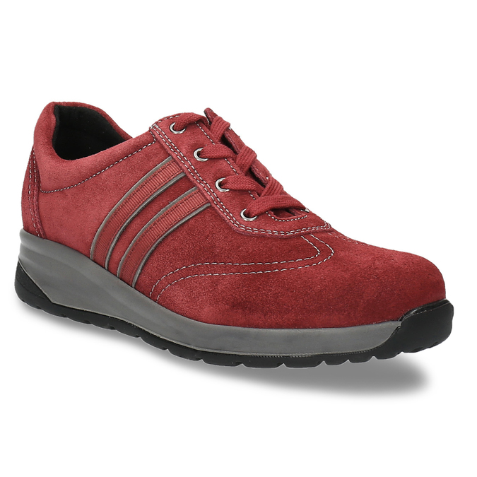 Dámská zdravotní obuv medi, červená, 556-5321 - 13