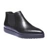 Kožená dámská obuv bata, černá, 514-6117 - 13