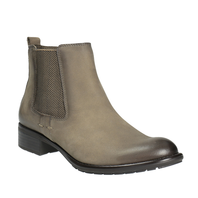 Dámská kotníčková obuv bata, hnědá, 596-2603 - 13