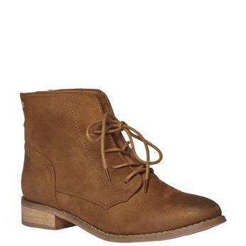 Kotníčkové šněrovací boty bata, hnědá, 599-3493 - 13