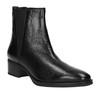 Dámské kožené Chelsea Boots bata, černá, 596-6623 - 13
