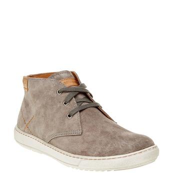 Pánská kožená obuv weinbrenner, hnědá, 843-2661 - 13