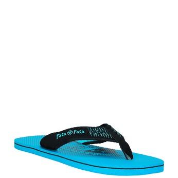 Pánské žabky pata-pata, modrá, 881-9601 - 13