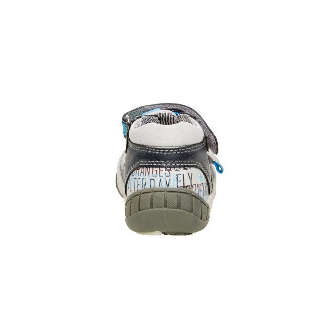 Kotníčkové boty s průstřihy mini-b, šedá, 111-2102 - 17