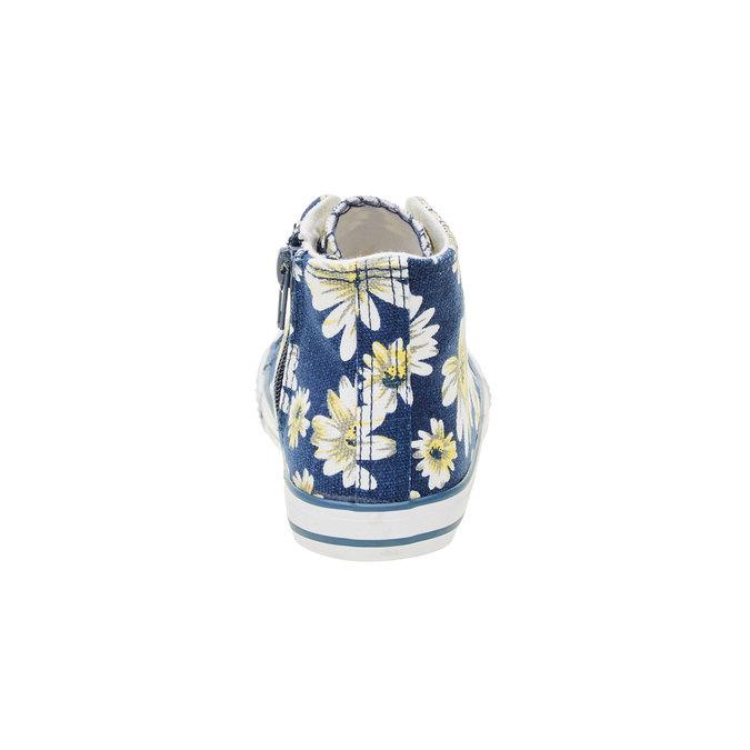 Dětské kotníčkové tenisky mini-b, modrá, 329-9183 - 17
