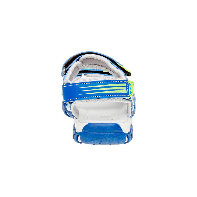 Dětské sandály mini-b, modrá, 261-9168 - 17