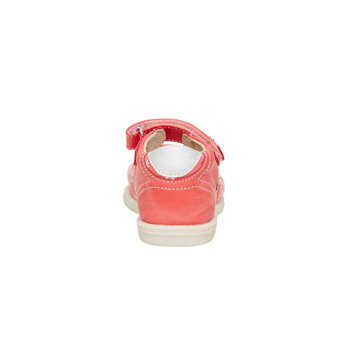 Dětské sandály mini-b, oranžová, 169-5100 - 17