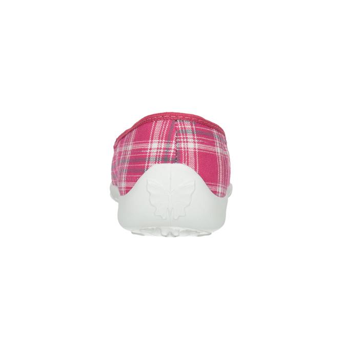 Dětská domácí obuv mini-b, růžová, 379-5207 - 17
