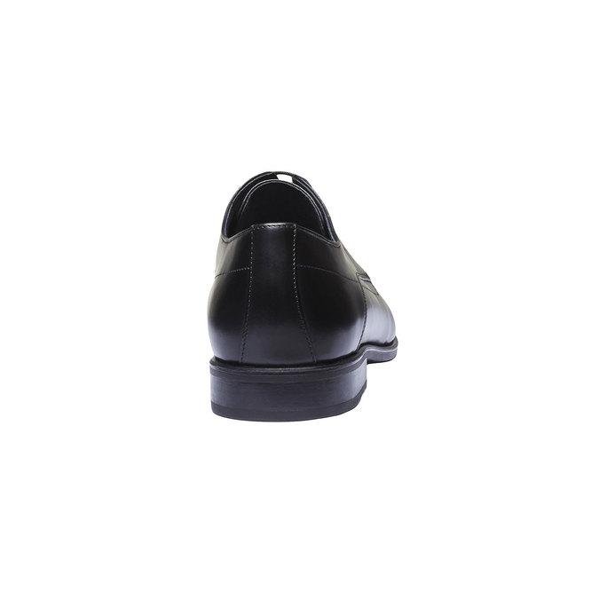 Pánské kožené polobotky bata, černá, 824-6275 - 17