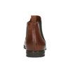 Kožené hnědé Chelsea Boots bata, hnědá, 594-4604 - 17