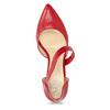 Kožené Lodičky s páskem bata, červená, 724-5904 - 17