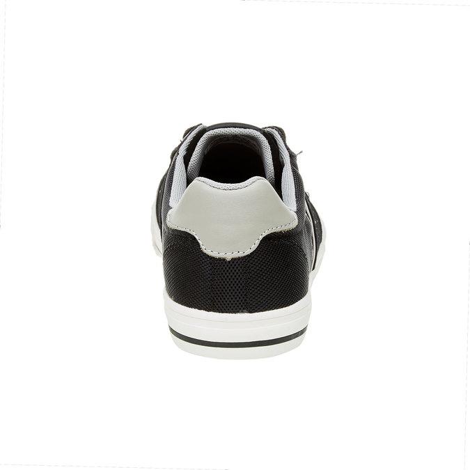 Černé pánské tenisky pepe-jeans, černá, 849-6008 - 17