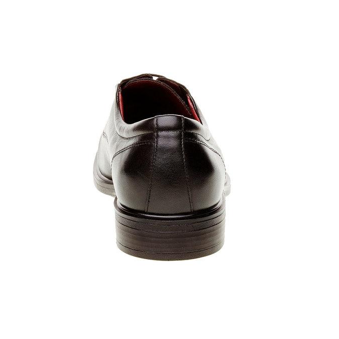 Kožené pánské polobotky bata-comfit, černá, 824-6933 - 17